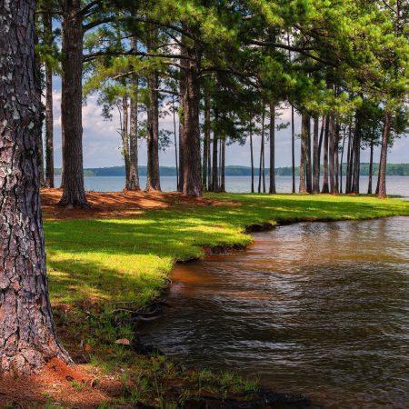 Озера, водохранилища